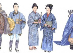 Japanese style in dress and manner