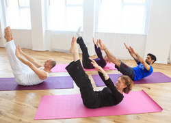 A course in Pilates at club Ten–Chi