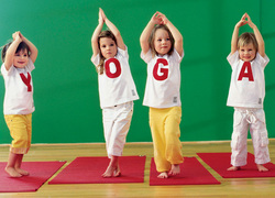 Children's yoga - just about the complex