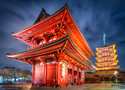 Sensoji is the oldest Buddhist temple in Tokyo